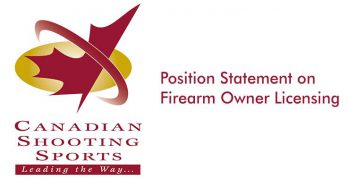 CSSA Position Statement on Firearm Owner Licensing