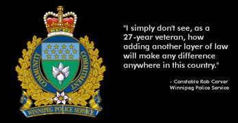 Winnipeg Constable calls handgun ban 'nonsense'