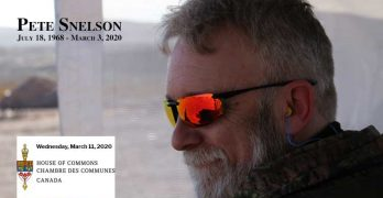 House of Commons Memorializes Peter Snelson