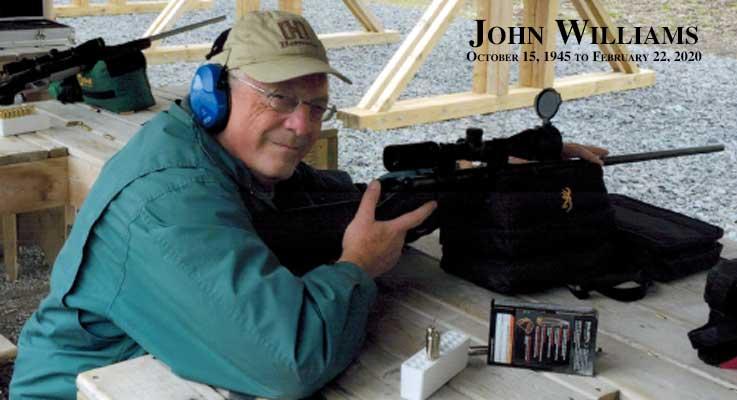 John Williams - October 15, 1945 to February 22, 2020