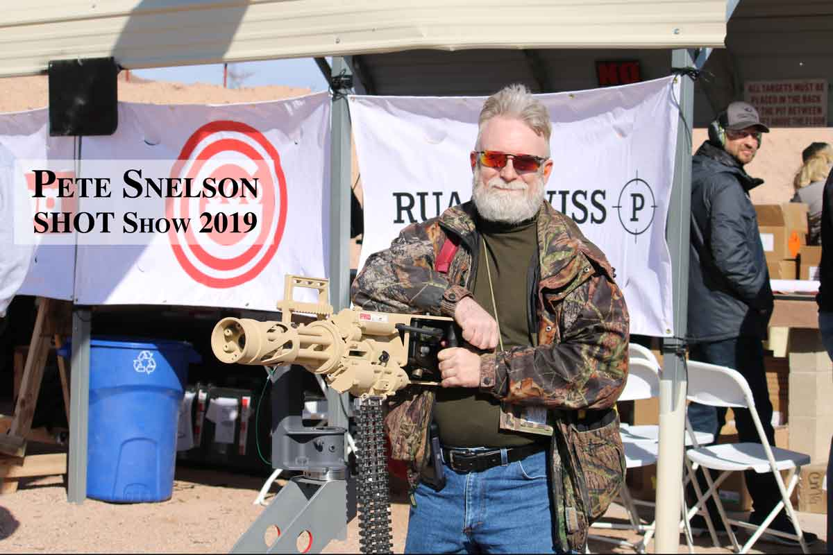 Pete Snelson at SHOT Show 2019