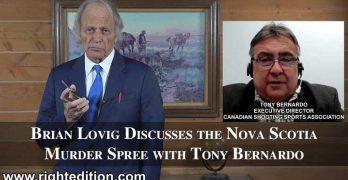 Brian Lovig Discusses the Nova Scotia Murder Spree with Tony Bernardo