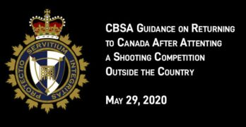 CBSA Guidance on Returning to Canada with Shotguns