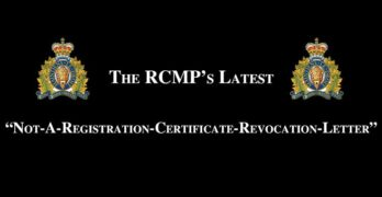 """The RCMP's """"Not A-Registration-Certificate-Revocation"""" Letter"""