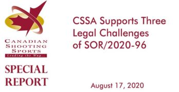CSSA Supports Three Legal Challenges of SOR/2020-96