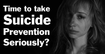Time to Take Suicide Prevention Seriously?