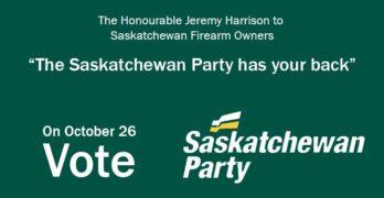 On October 26th Vote Saskatchewan Party
