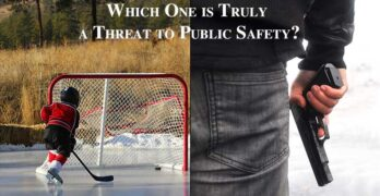 Ice Skaters or Gang Members with Illegal Guns: Who is the Greater Threat to Public Safety?