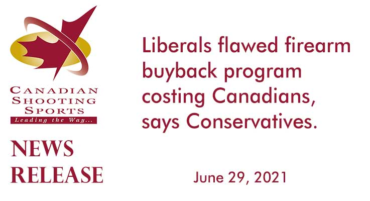 Liberals flawed firearm buyback program costing Canadians