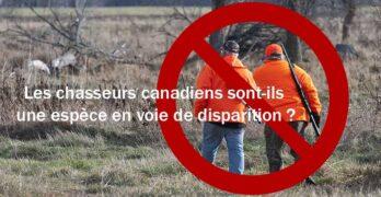 Les chasseurs canadiens sont-ils une espèce en voie de disparition ?