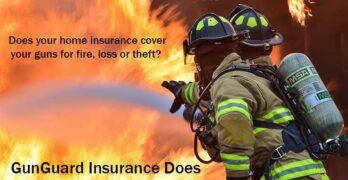 GunGuard Firearm Insurance against fire, loss and theft