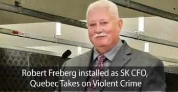 Robert Freberg installed as SK CFO